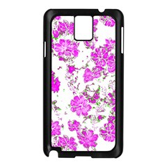 Floral Dreams 12 F Samsung Galaxy Note 3 N9005 Case (black) by MoreColorsinLife
