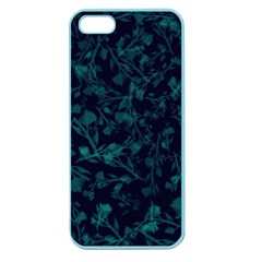 Leaf Pattern Apple Seamless Iphone 5 Case (color) by berwies