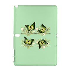 Four Green Butterflies Galaxy Note 1 by linceazul