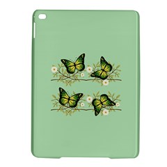 Four Green Butterflies Ipad Air 2 Hardshell Cases by linceazul