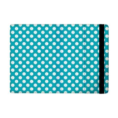 Sleeping Kitties Polka Dots Teal Ipad Mini 2 Flip Cases by emilyzragz