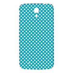Sleeping Kitties Polka Dots Teal Samsung Galaxy Mega I9200 Hardshell Back Case by emilyzragz