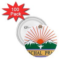 Seal Of Indian State Of Arunachal Pradesh  1 75  Buttons (100 Pack)  by abbeyz71