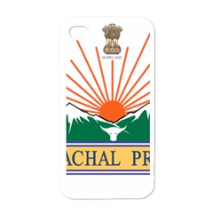 Seal Of Indian State Of Arunachal Pradesh  Apple Iphone 4 Case (white) by abbeyz71