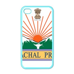 Seal Of Indian State Of Arunachal Pradesh  Apple Iphone 4 Case (color) by abbeyz71