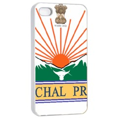 Seal Of Indian State Of Arunachal Pradesh  Apple Iphone 4/4s Seamless Case (white) by abbeyz71