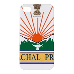 Seal Of Indian State Of Arunachal Pradesh  Apple Iphone 4/4s Hardshell Case by abbeyz71