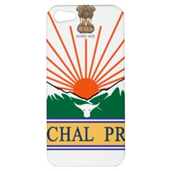 Seal Of Indian State Of Arunachal Pradesh  Apple Iphone 5 Hardshell Case by abbeyz71
