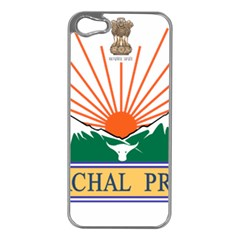 Seal Of Indian State Of Arunachal Pradesh  Apple Iphone 5 Case (silver) by abbeyz71