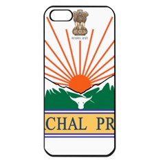 Seal Of Indian State Of Arunachal Pradesh  Apple Iphone 5 Seamless Case (black) by abbeyz71