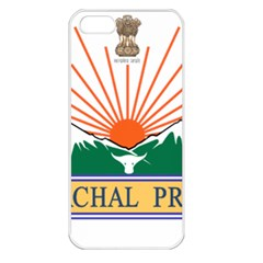 Seal Of Indian State Of Arunachal Pradesh  Apple Iphone 5 Seamless Case (white) by abbeyz71