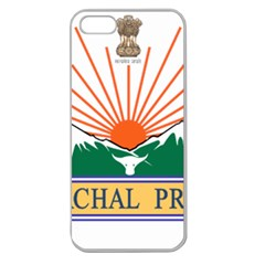 Seal Of Indian State Of Arunachal Pradesh  Apple Seamless Iphone 5 Case (clear) by abbeyz71