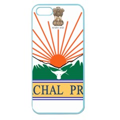 Seal Of Indian State Of Arunachal Pradesh  Apple Seamless Iphone 5 Case (color) by abbeyz71
