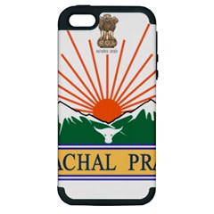 Seal Of Indian State Of Arunachal Pradesh  Apple Iphone 5 Hardshell Case (pc+silicone) by abbeyz71