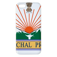 Seal Of Indian State Of Arunachal Pradesh  Apple Iphone 5 Premium Hardshell Case by abbeyz71