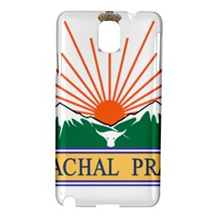 Seal Of Indian State Of Arunachal Pradesh  Samsung Galaxy Note 3 N9005 Hardshell Case by abbeyz71