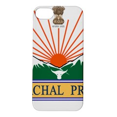 Seal Of Indian State Of Arunachal Pradesh  Apple Iphone 5s/ Se Hardshell Case by abbeyz71