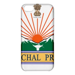 Seal Of Indian State Of Arunachal Pradesh  Apple Iphone 5c Hardshell Case by abbeyz71