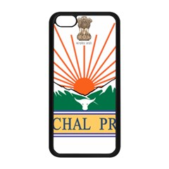 Seal Of Indian State Of Arunachal Pradesh  Apple Iphone 5c Seamless Case (black) by abbeyz71