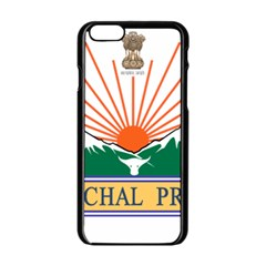 Seal Of Indian State Of Arunachal Pradesh  Apple Iphone 6/6s Black Enamel Case by abbeyz71