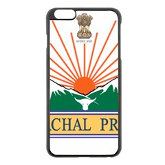 Seal Of Indian State Of Arunachal Pradesh  Apple Iphone 6 Plus/6s Plus Black Enamel Case by abbeyz71
