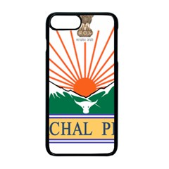 Seal Of Indian State Of Arunachal Pradesh  Apple Iphone 7 Plus Seamless Case (black) by abbeyz71