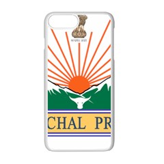 Seal Of Indian State Of Arunachal Pradesh  Apple Iphone 7 Plus White Seamless Case by abbeyz71