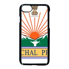 Seal Of Indian State Of Arunachal Pradesh  Apple Iphone 7 Seamless Case (black) by abbeyz71