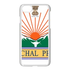 Seal Of Indian State Of Arunachal Pradesh  Apple Iphone 7 Seamless Case (white) by abbeyz71