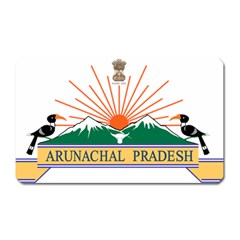 Indian State Of Arunachal Pradesh Seal Magnet (rectangular) by abbeyz71