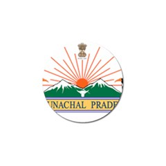 Indian State Of Arunachal Pradesh Seal Golf Ball Marker (4 Pack) by abbeyz71