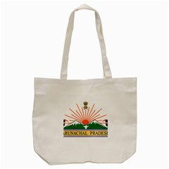 Indian State Of Arunachal Pradesh Seal Tote Bag (cream) by abbeyz71