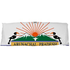 Indian State Of Arunachal Pradesh Seal Body Pillow Case Dakimakura (two Sides) by abbeyz71