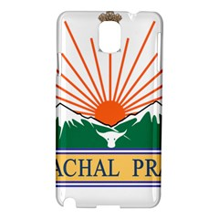 Indian State Of Arunachal Pradesh Seal Samsung Galaxy Note 3 N9005 Hardshell Case by abbeyz71