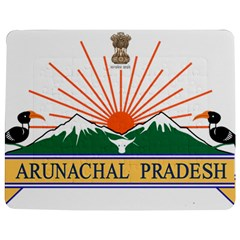 Indian State Of Arunachal Pradesh Seal Jigsaw Puzzle Photo Stand (rectangular) by abbeyz71