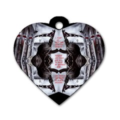 Army Brothers In Arms 3d Dog Tag Heart (two Sides) by 3Dbjvprojats
