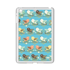 Assorted Birds Pattern Ipad Mini 2 Enamel Coated Cases by linceazul