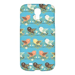 Assorted Birds Pattern Samsung Galaxy S4 I9500/i9505 Hardshell Case by linceazul