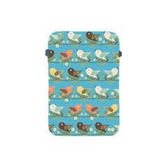 Assorted Birds Pattern Apple Ipad Mini Protective Soft Cases by linceazul