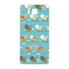 Assorted Birds Pattern Samsung Galaxy Alpha Hardshell Back Case by linceazul