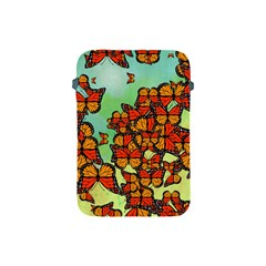 Monarch Butterflies Apple Ipad Mini Protective Soft Cases by linceazul