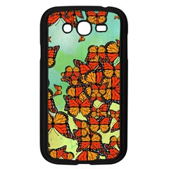 Monarch Butterflies Samsung Galaxy Grand Duos I9082 Case (black) by linceazul