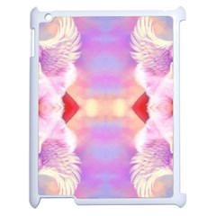 Cat Angels Apple Ipad 2 Case (white) by 3Dbjvprojats