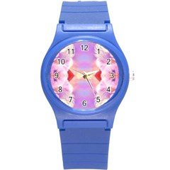 Cat Angels Round Plastic Sport Watch (s) by 3Dbjvprojats