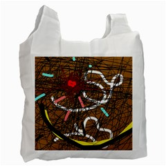 Art Recycle Bag (one Side) by Valentinaart