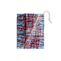 Art Drawstring Pouches (small)  by Valentinaart