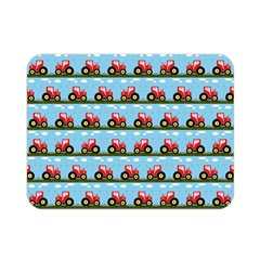 Toy Tractor Pattern Double Sided Flano Blanket (mini)  by linceazul