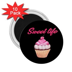 Sweet Life 2 25  Magnets (10 Pack)  by Valentinaart