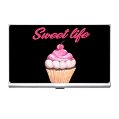 Sweet Life Business Card Holders by Valentinaart