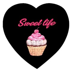 Sweet Life Jigsaw Puzzle (heart) by Valentinaart